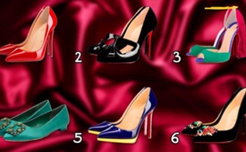 Какие туфли примерили бы? Выберите и узнайте какая Вы женщина!