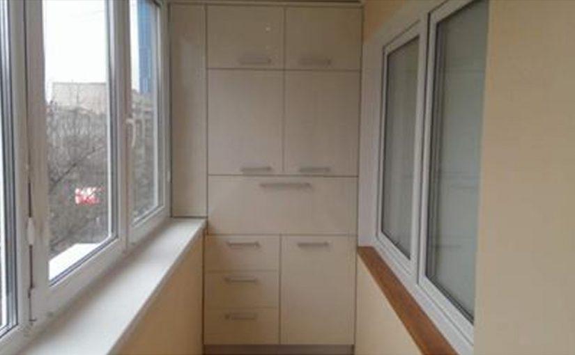 30 отличных идей как сделать шкафчики на балкон.
