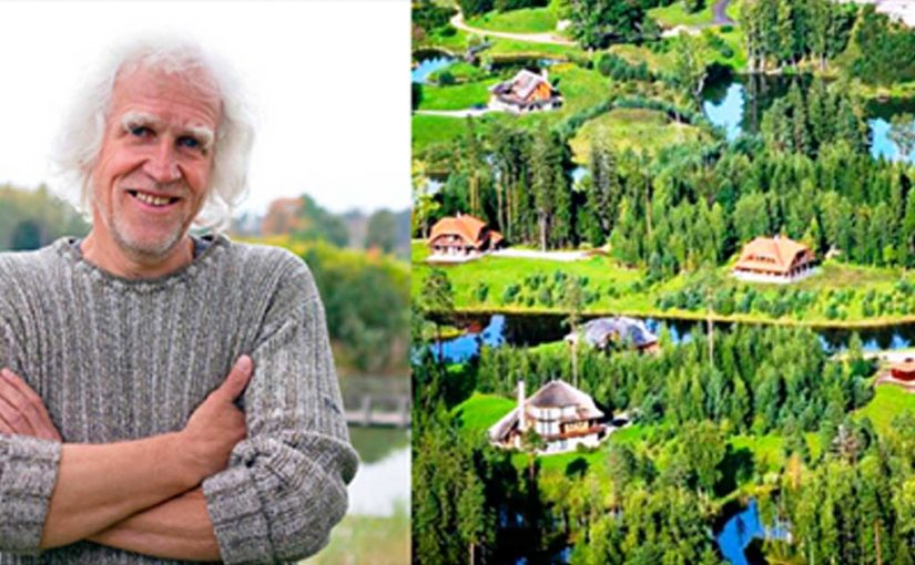 Латвийский миллионер выкупил 3 тыс. га леса и выстроил «Город Солнца».