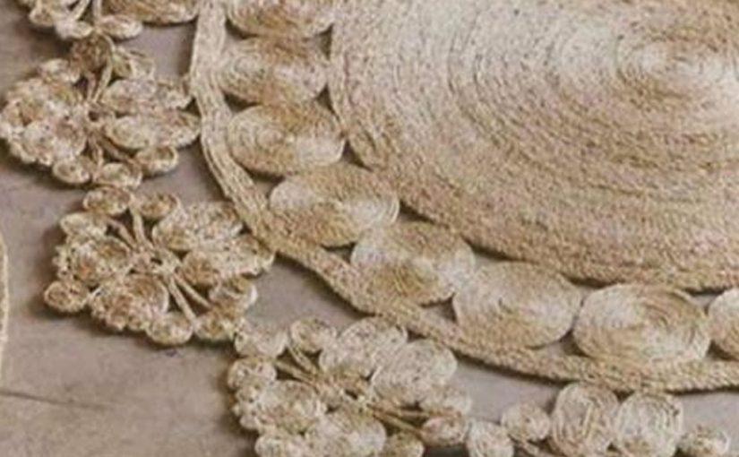 Мастер-класс и идеи ковров из веревки
