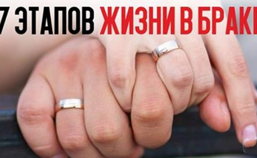 Жизнь в браке: 7 этапов отношений, которые проходят абсолютно все пары